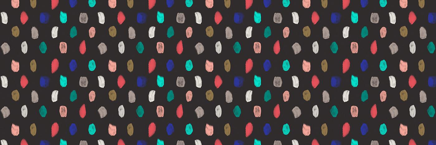 Outfit Branding Beanfolk Dot Pattern