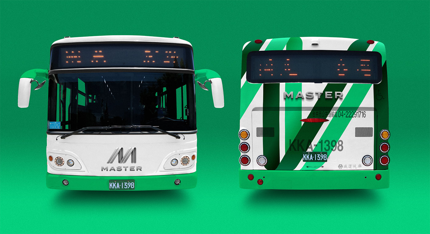 Outfit Branding & Design Master Bus Manufacturing Bus Livery Front Back