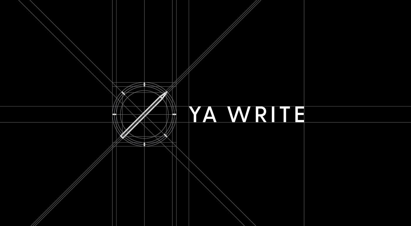 Outfit Branding & Design Ya Write Logo Grid