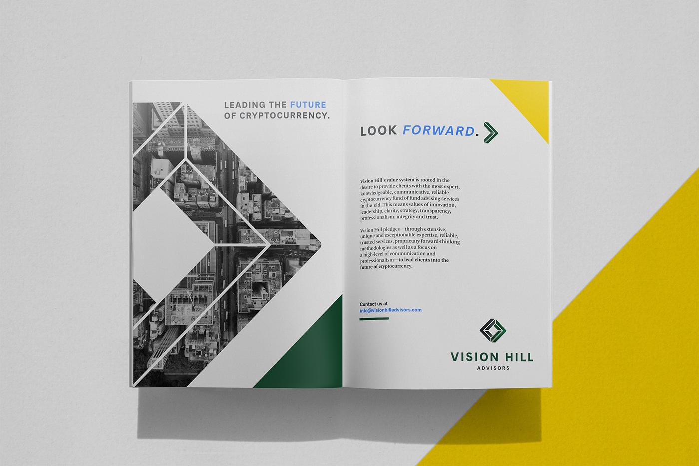 Outfit Branding & Design Vision Hill Advisors Catalog