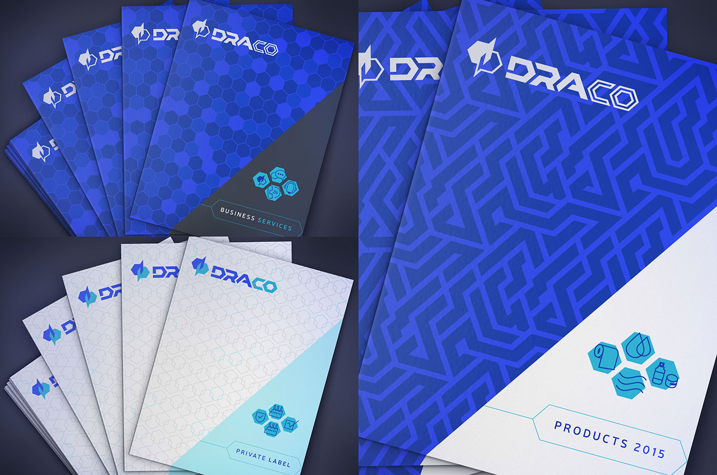 Outfit Branding & Design Draco Catalogs