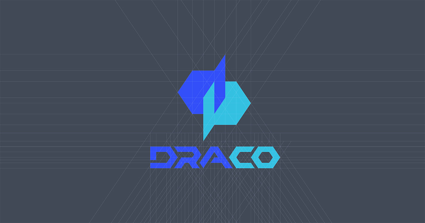 Outfit Branding & Design Draco Logo Grid