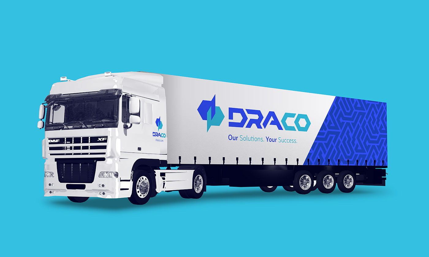 Outfit Branding & Design Draco Truck Livery