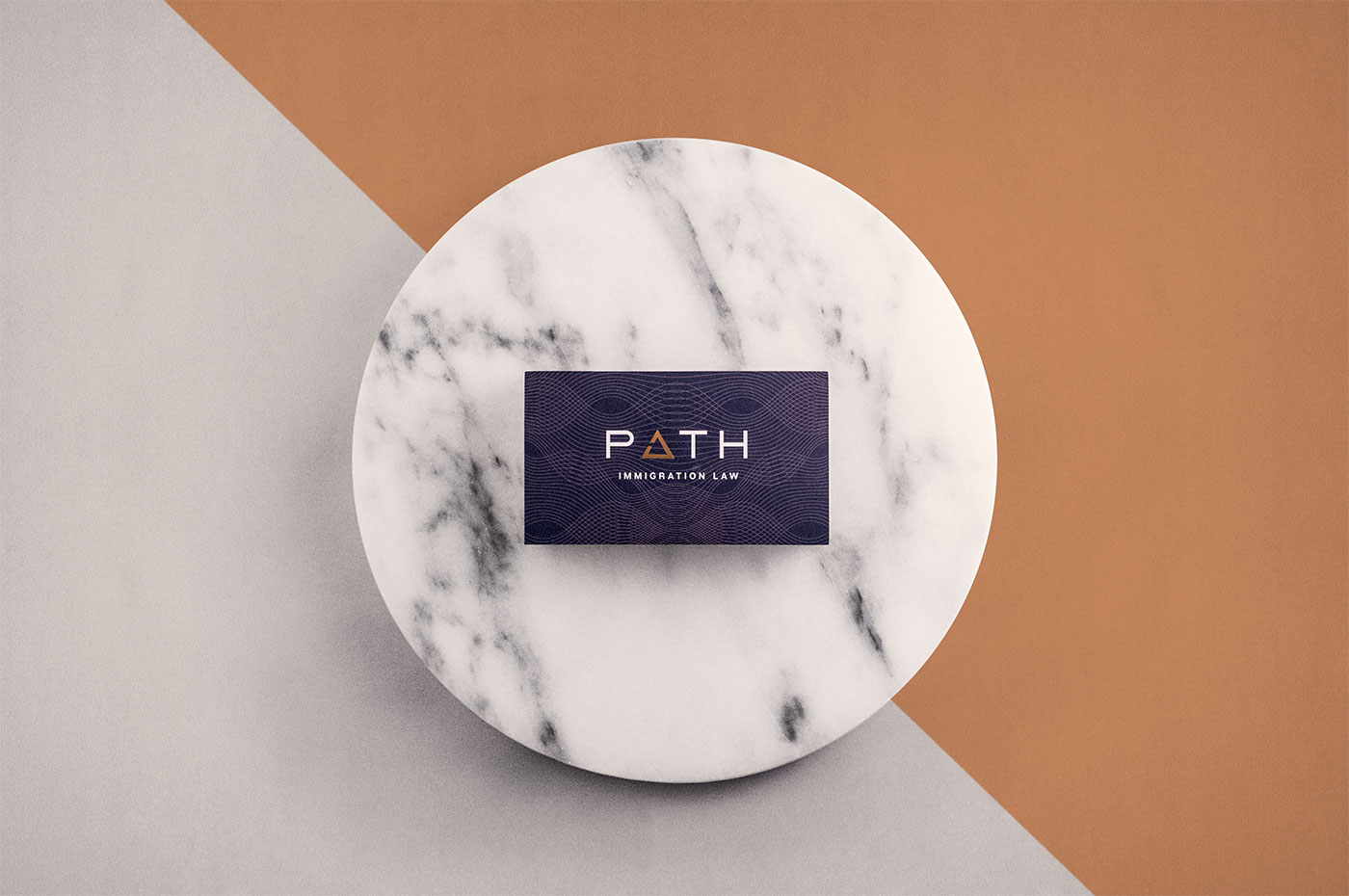 Outfit Branding & Design Path Law Business Cards