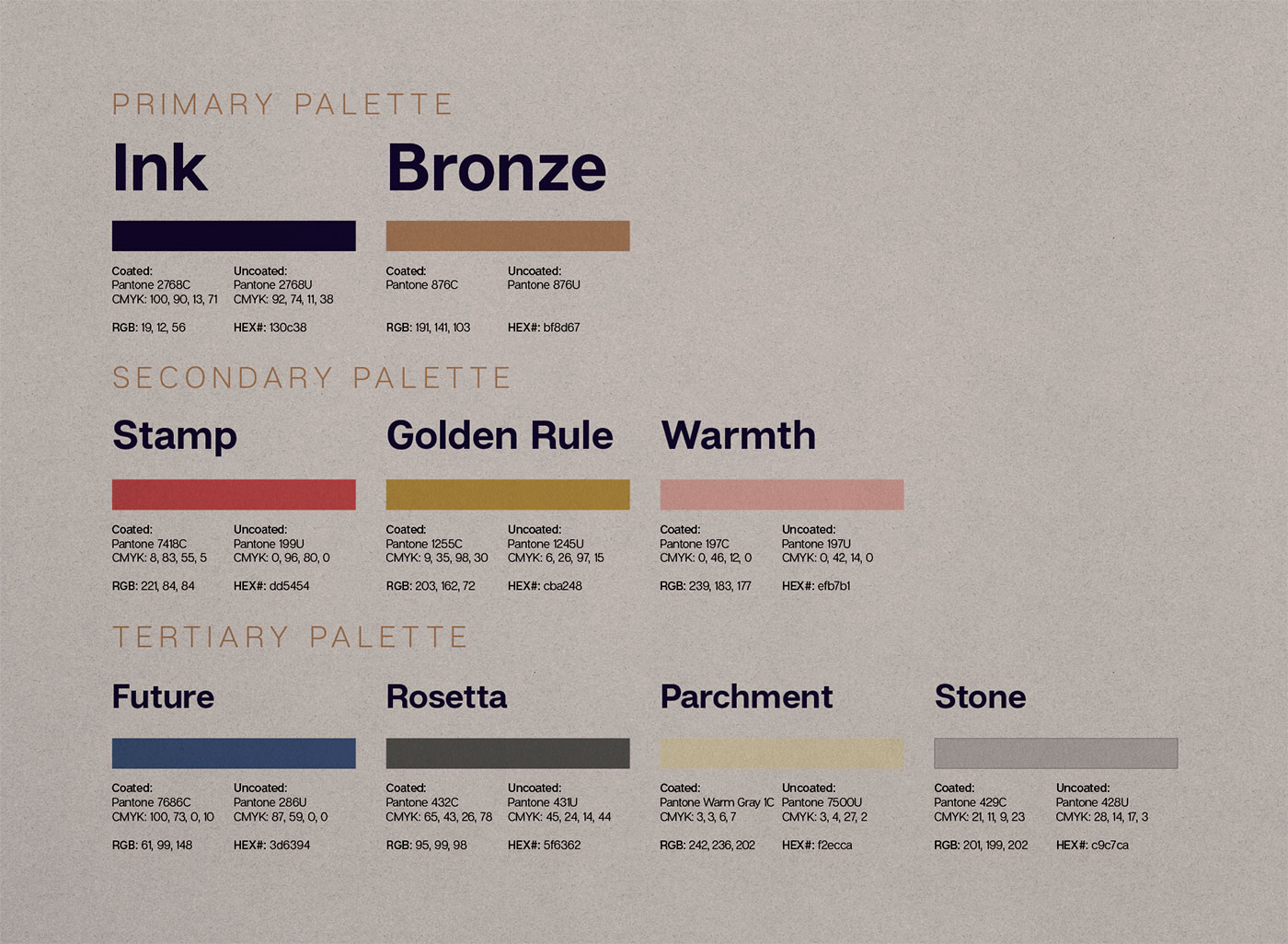 Outfit Branding & Design Path Law Color Palette