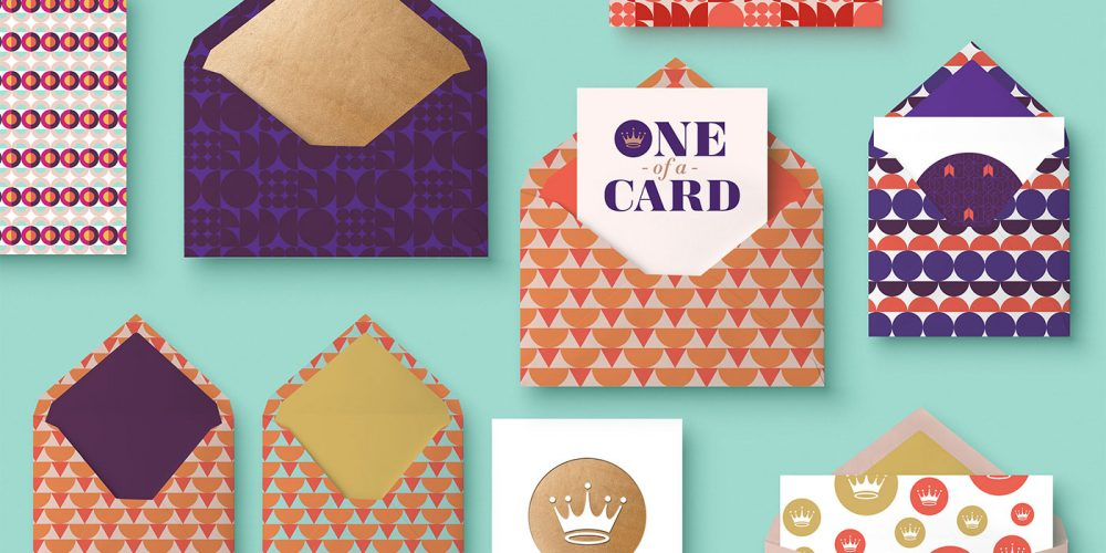 Outfit Branding & Design One of a Card Logo Greeting Cards and Envelopes