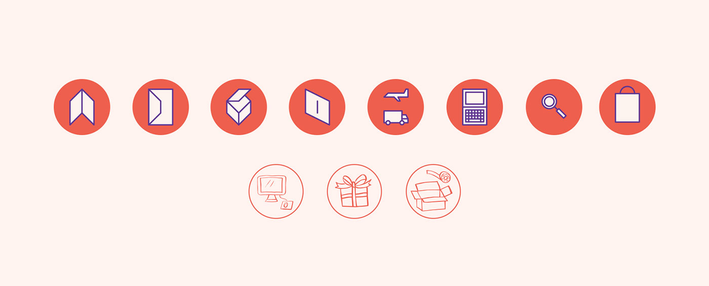 Outfit Branding & Design One of a Card Icons