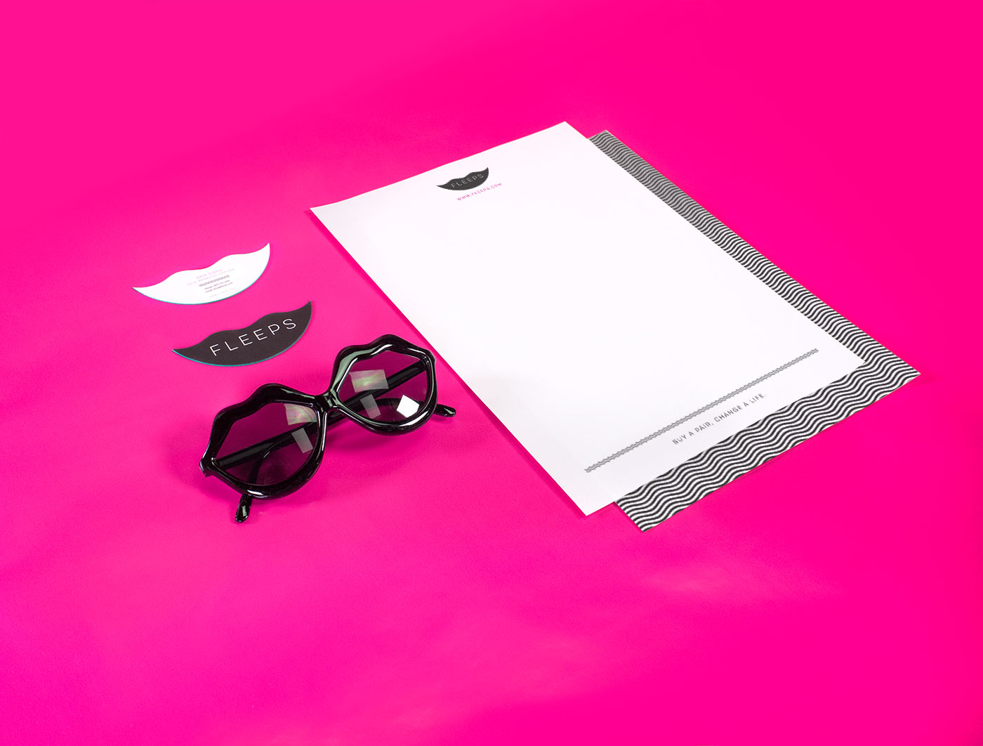 Outfit Branding & Design Fleeps Stationery