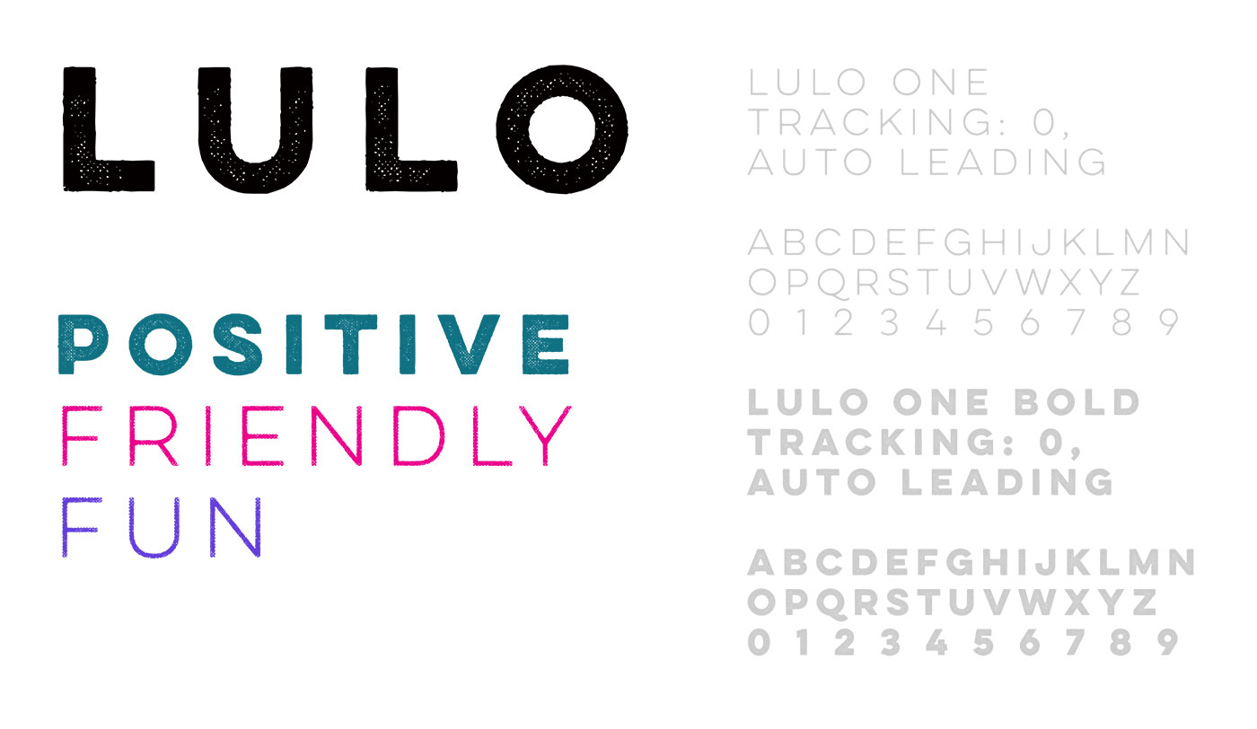 Outfit Branding & Design Fleeps Lulo Typography