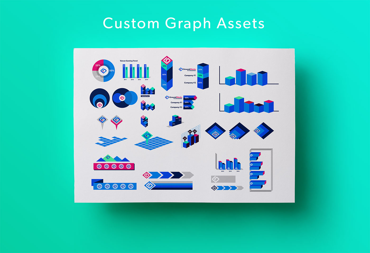 Outfit Branding & Design GroundWorks Charts Graphs