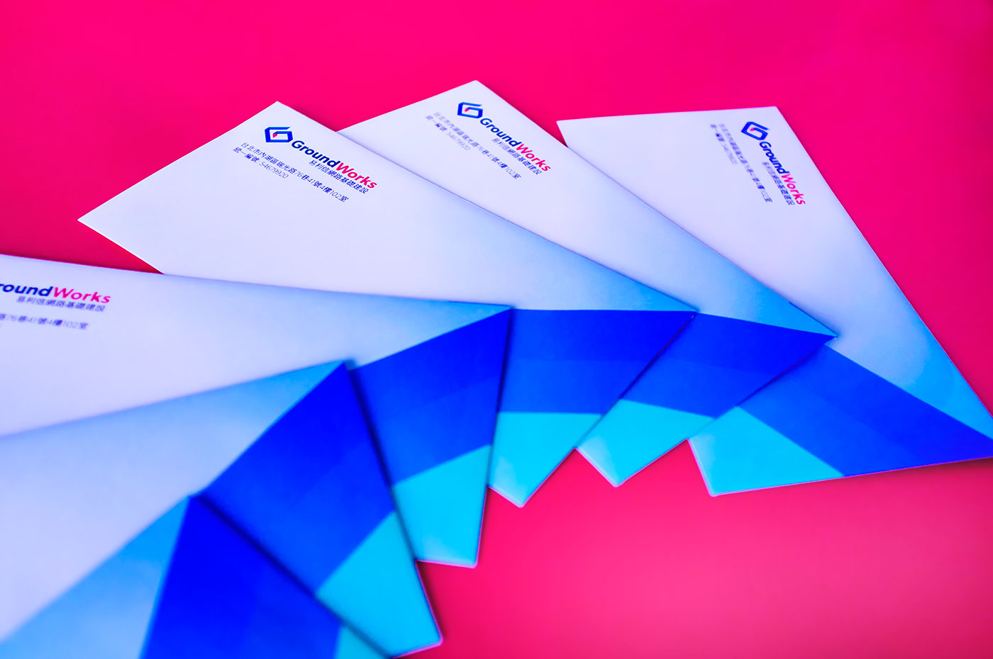 Outfit Branding & Design GroundWorks Envelopes