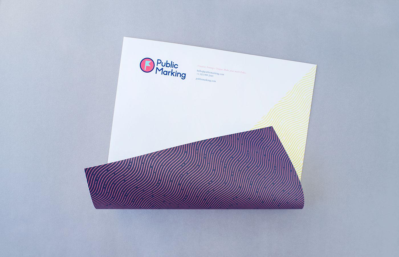 Outfit Branding & Design Public Marking Letterhead