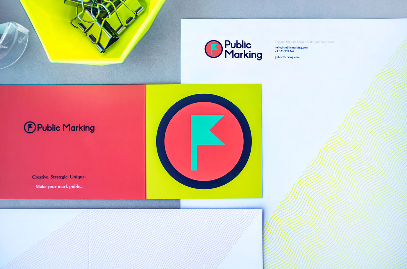 Outfit Branding & Design Public Marking Stationery