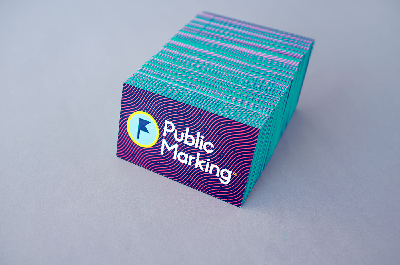 Outfit Branding & Design Public Marking Business Cards
