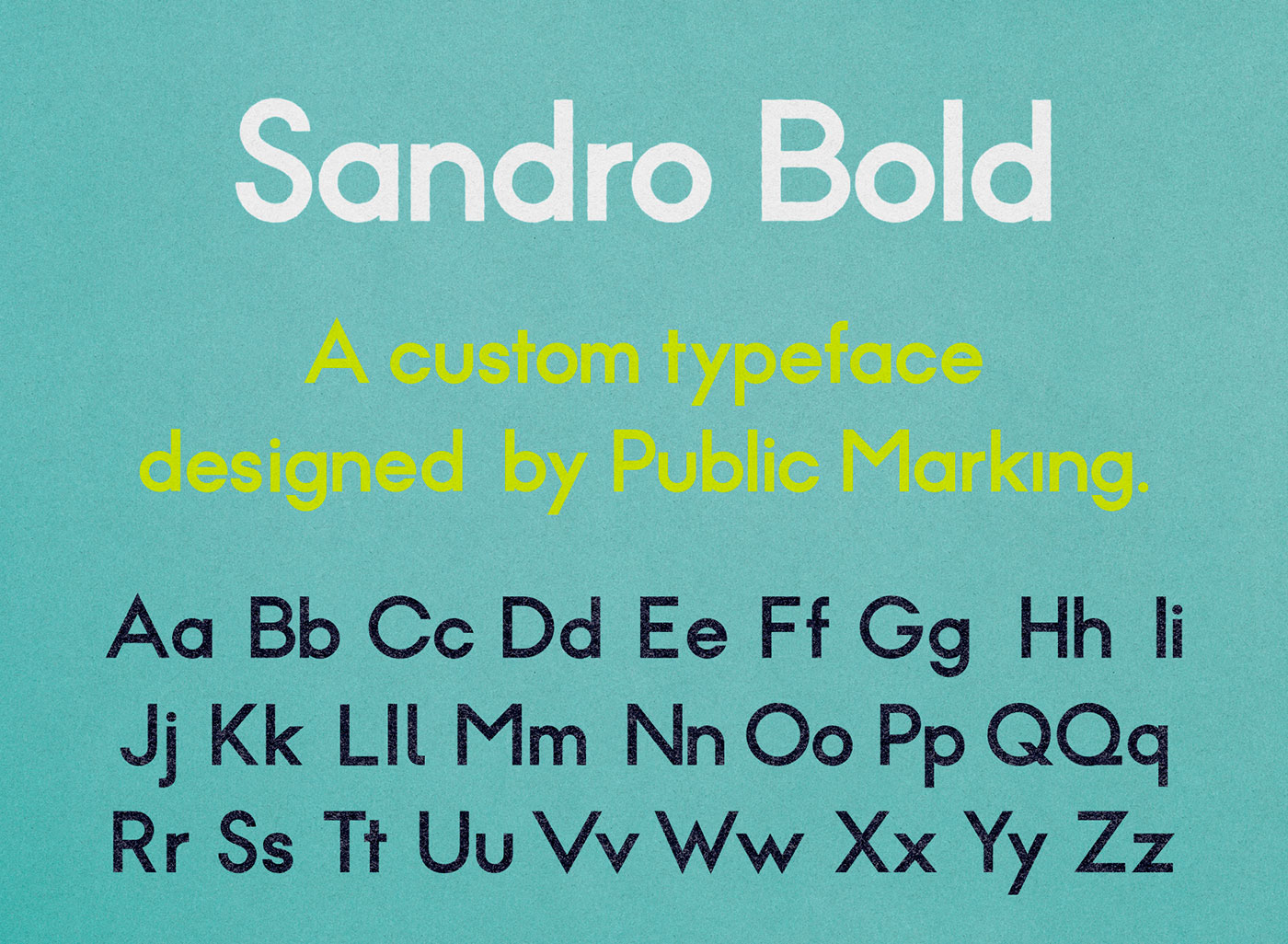 Outfit Branding & Design Public Marking Custom Typography