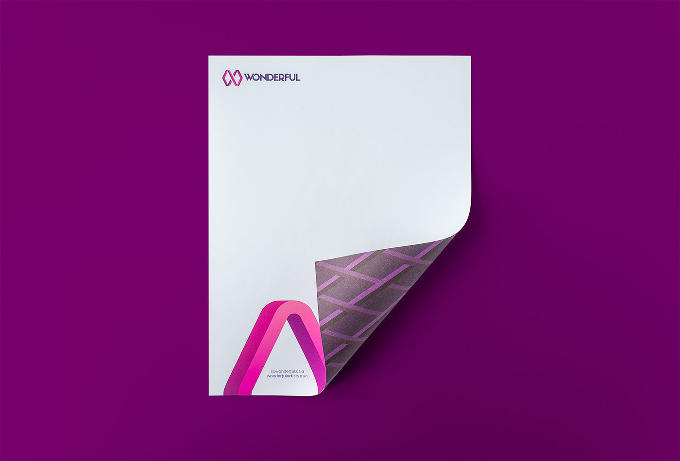 Outfit Branding & Design Wonderful Letterhead