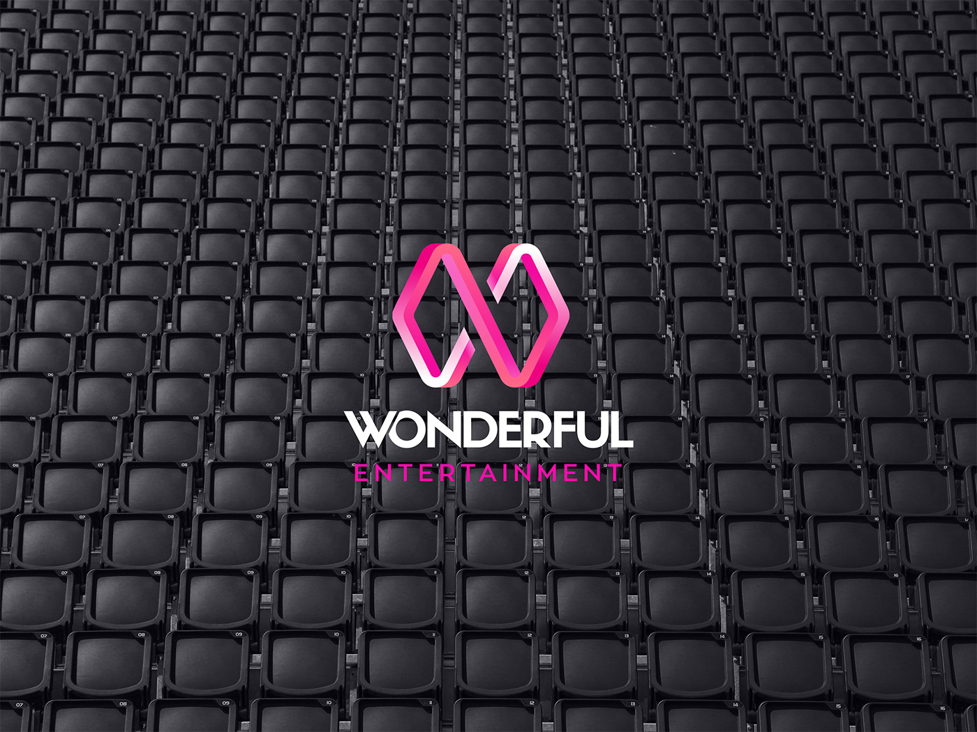 Outfit Branding & Design Wonderful Logo on Chairs Concert