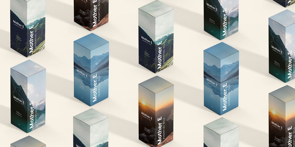 Outfit Branding & Design Mother E Packaging Concept Boxes
