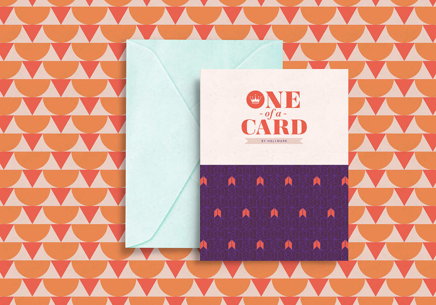 Outfit Branding & Design One of a Card Logo Greeting Card and Envelope