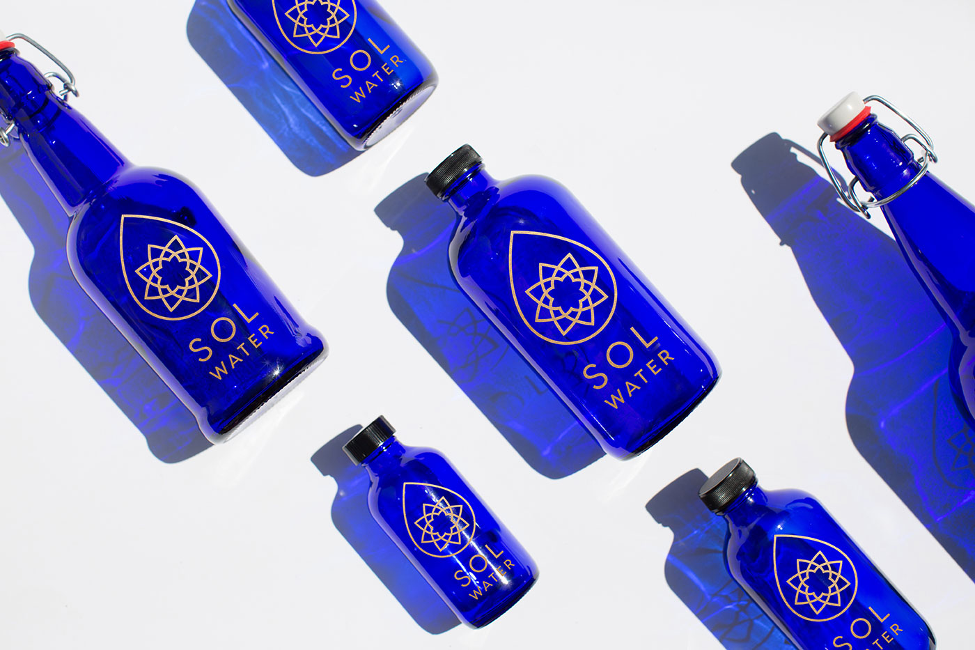 Outfit Branding & Design Sol Water Bottles