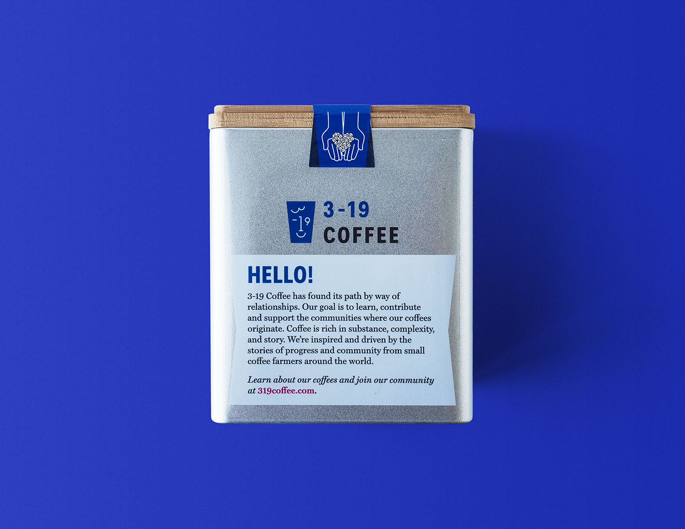 Outfit Branding 3-19 Coffee Packaging Tins