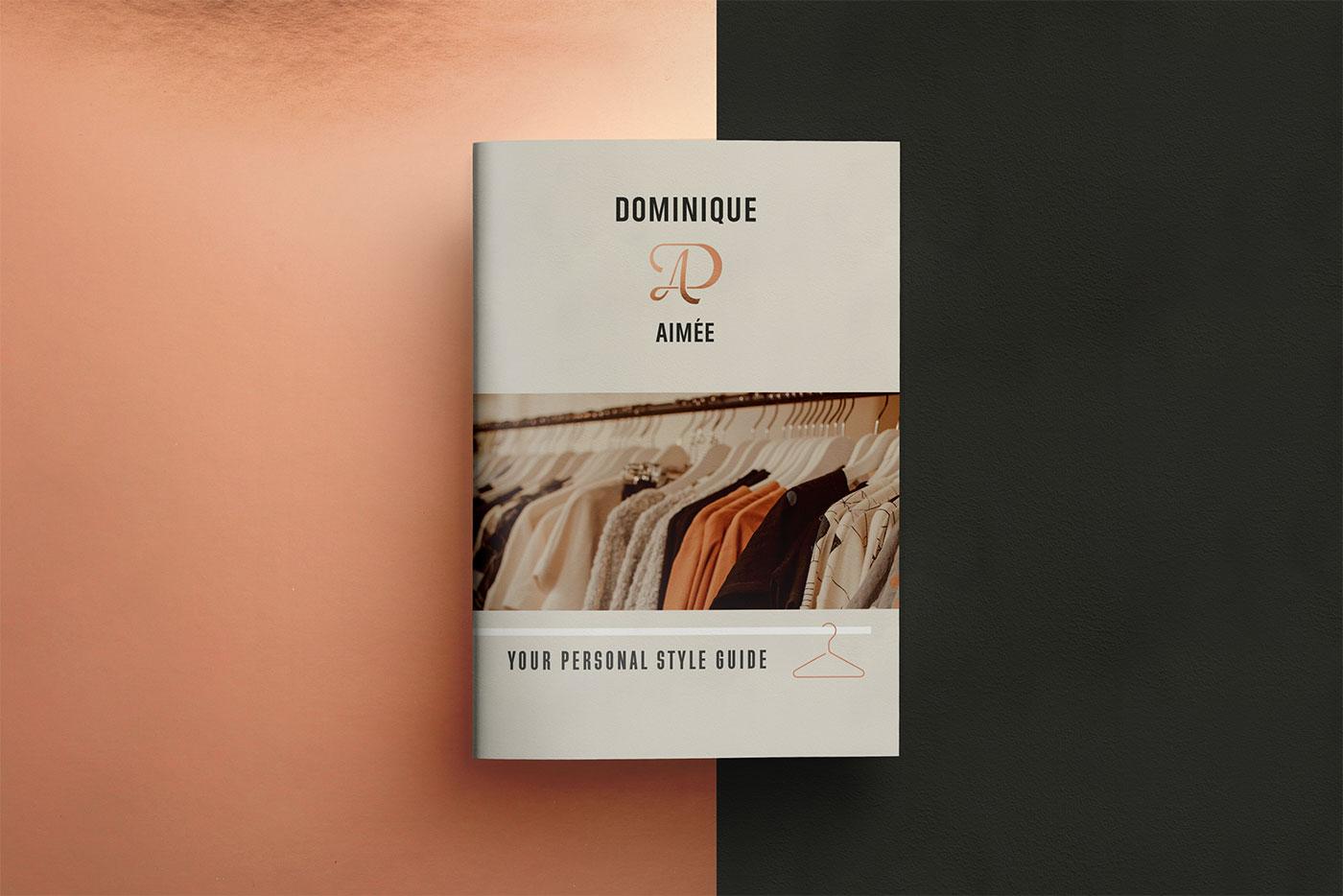 Outfit Branding Dominique Aimée Brochure