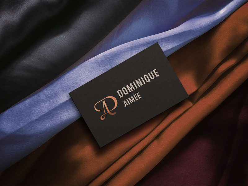 Outfit Branding Dominique Aimée Business Card