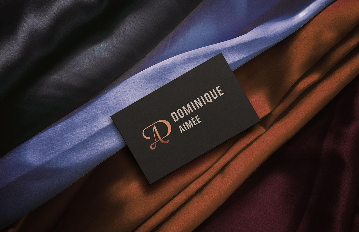Outfit Branding Dominique Aimée Business Card