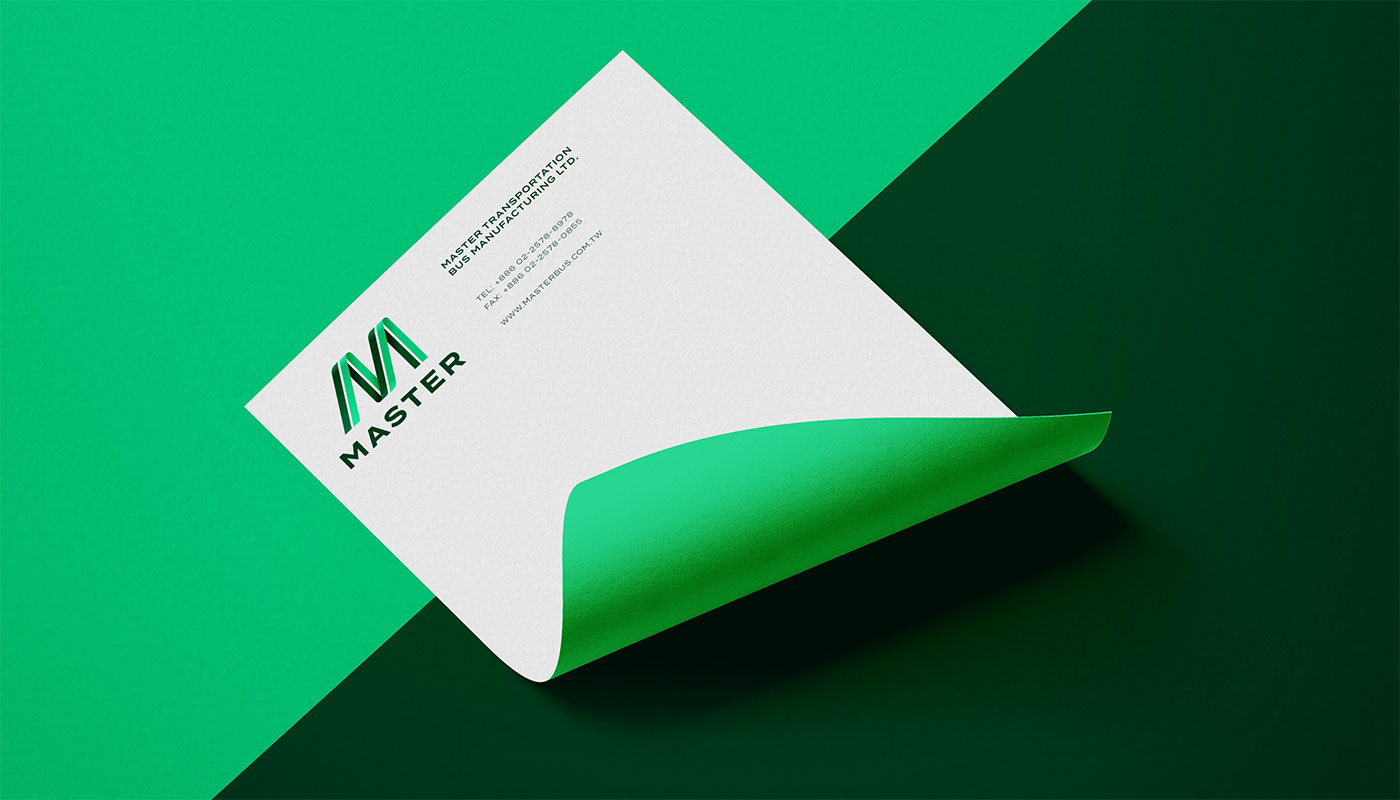 Outfit Branding & Design Master Bus Manufacturing Letterhead