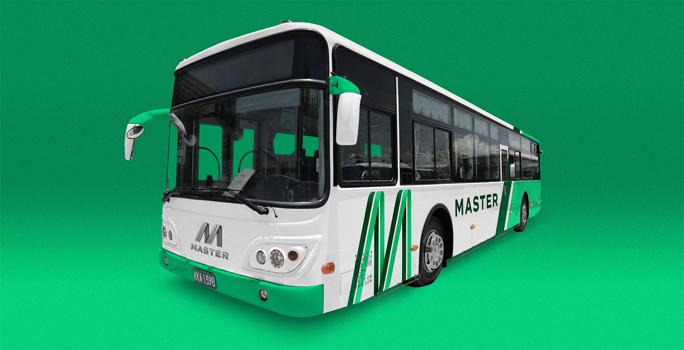 Outfit Branding & Design Master Bus Manufacturing Bus Livery