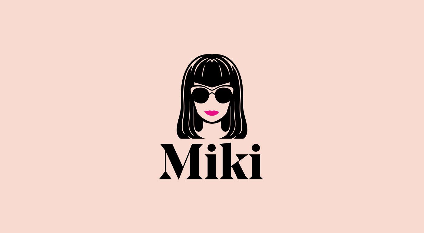Outfit Branding & Design Miki Logo
