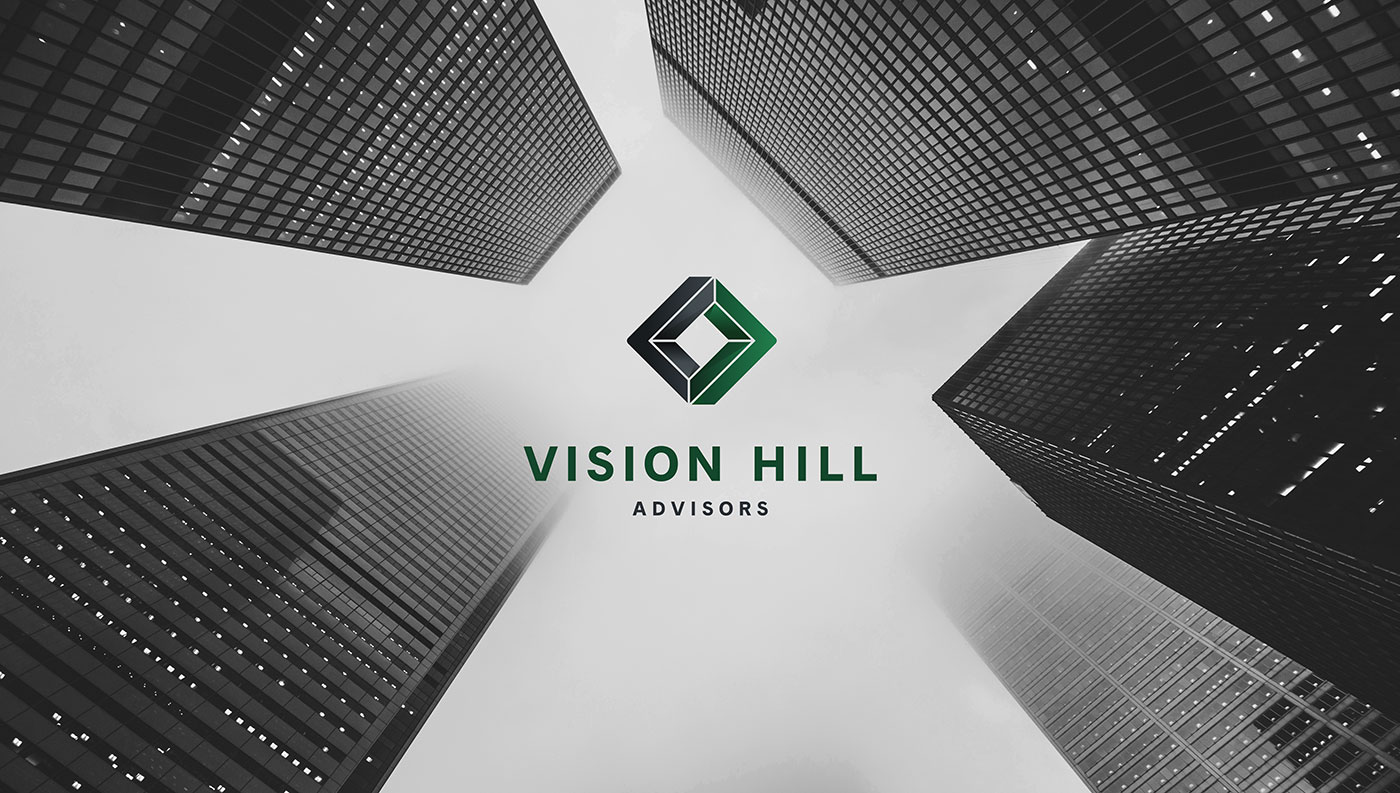 Outfit Branding & Design Vision Hill Advisors Logo Design Buildings