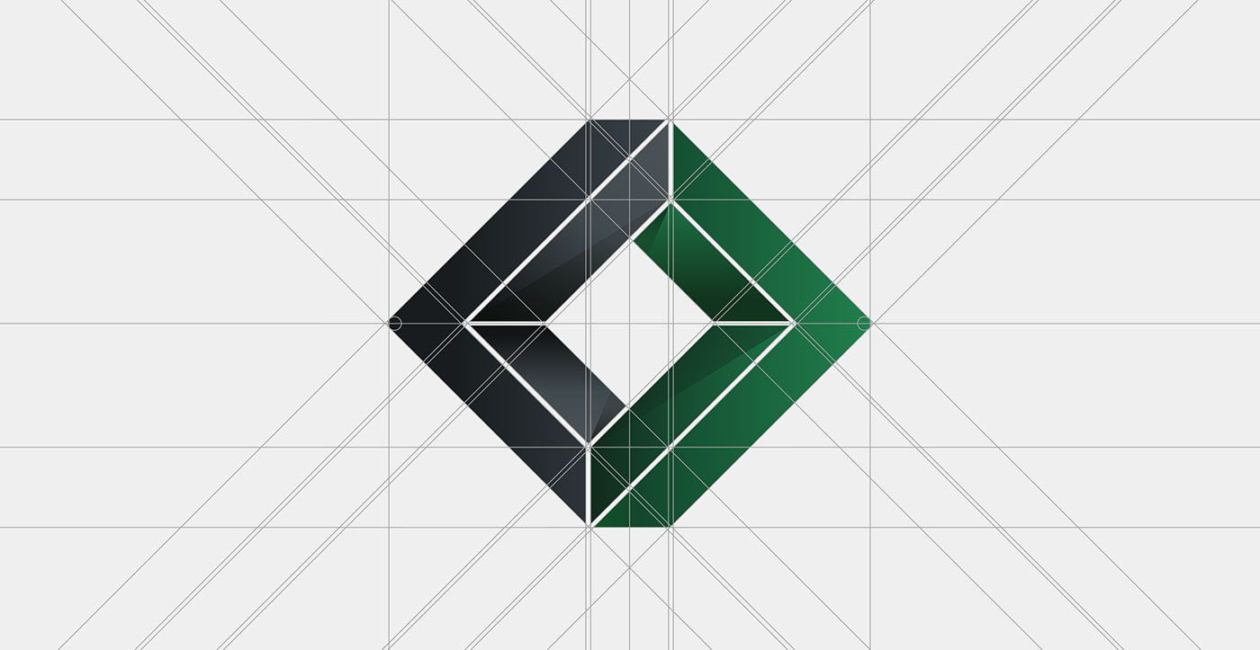 Outfit Branding & Design Vision Hill Advisors Logo Design Grid