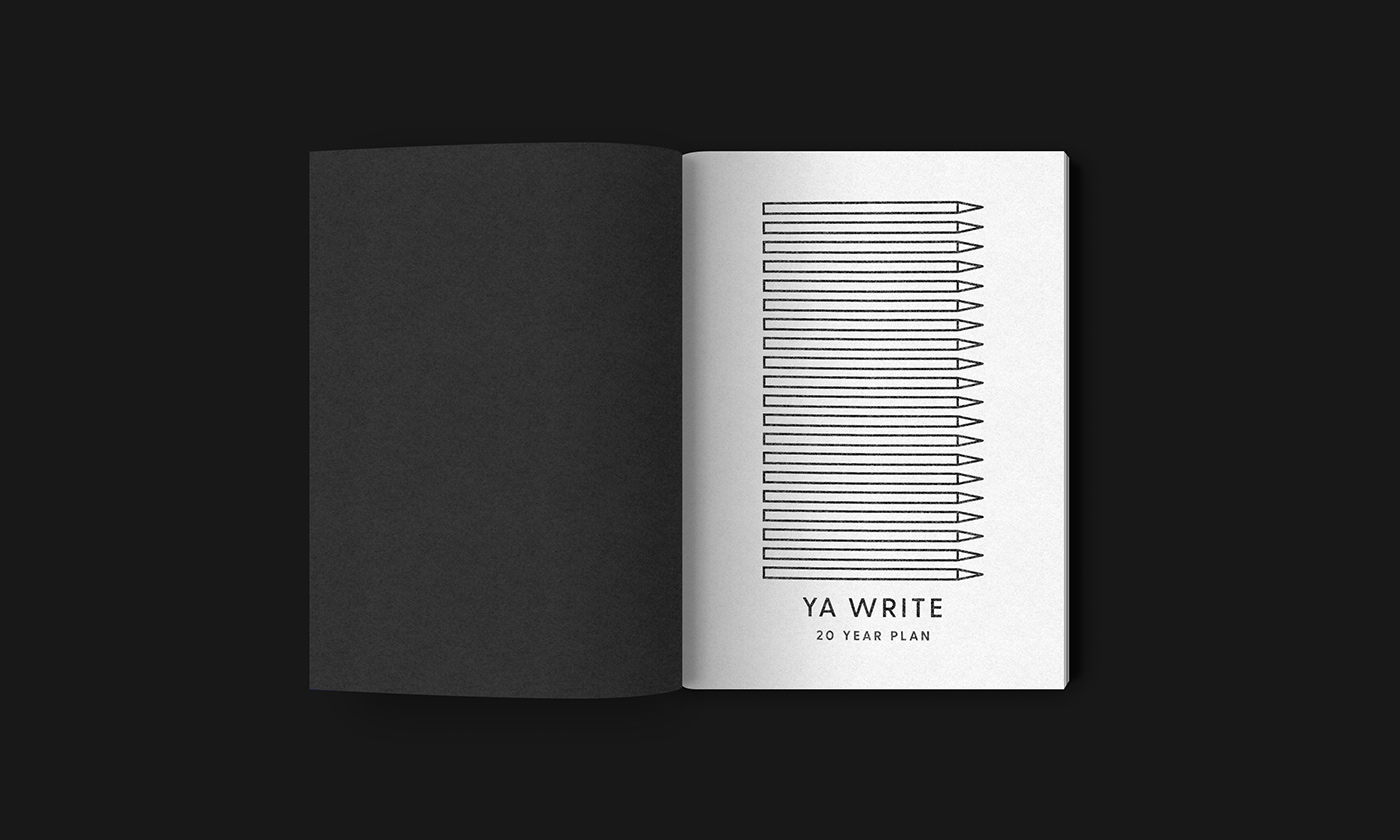 Outfit Branding & Design Ya Write Notebook