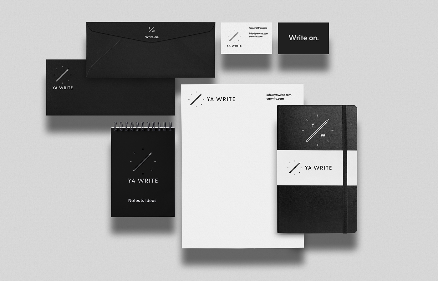 Outfit Branding & Design Ya Write Stationery