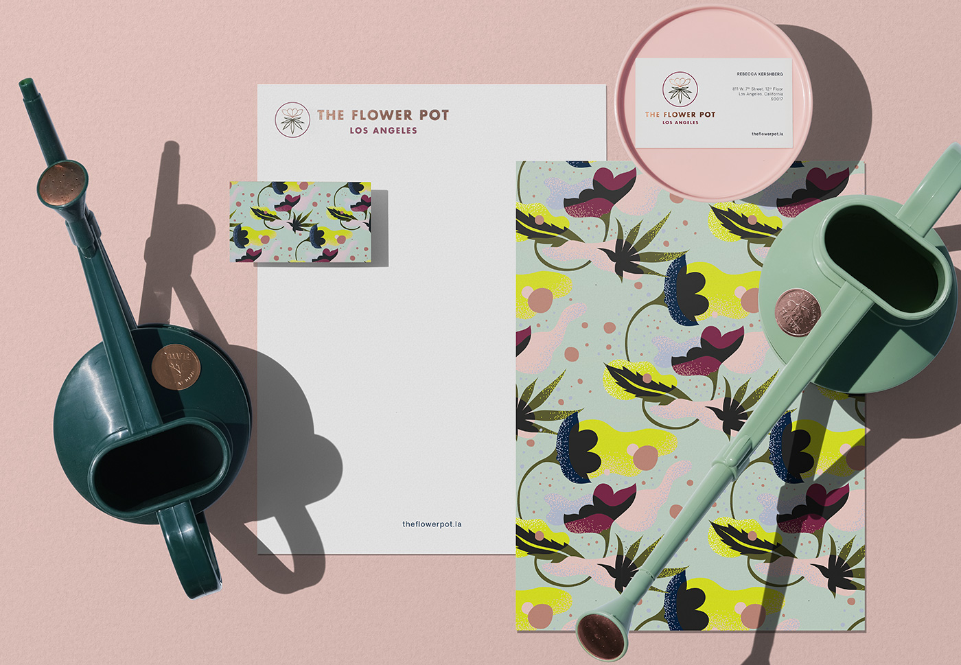 Outfit Branding & Design The Flower Pot Stationery