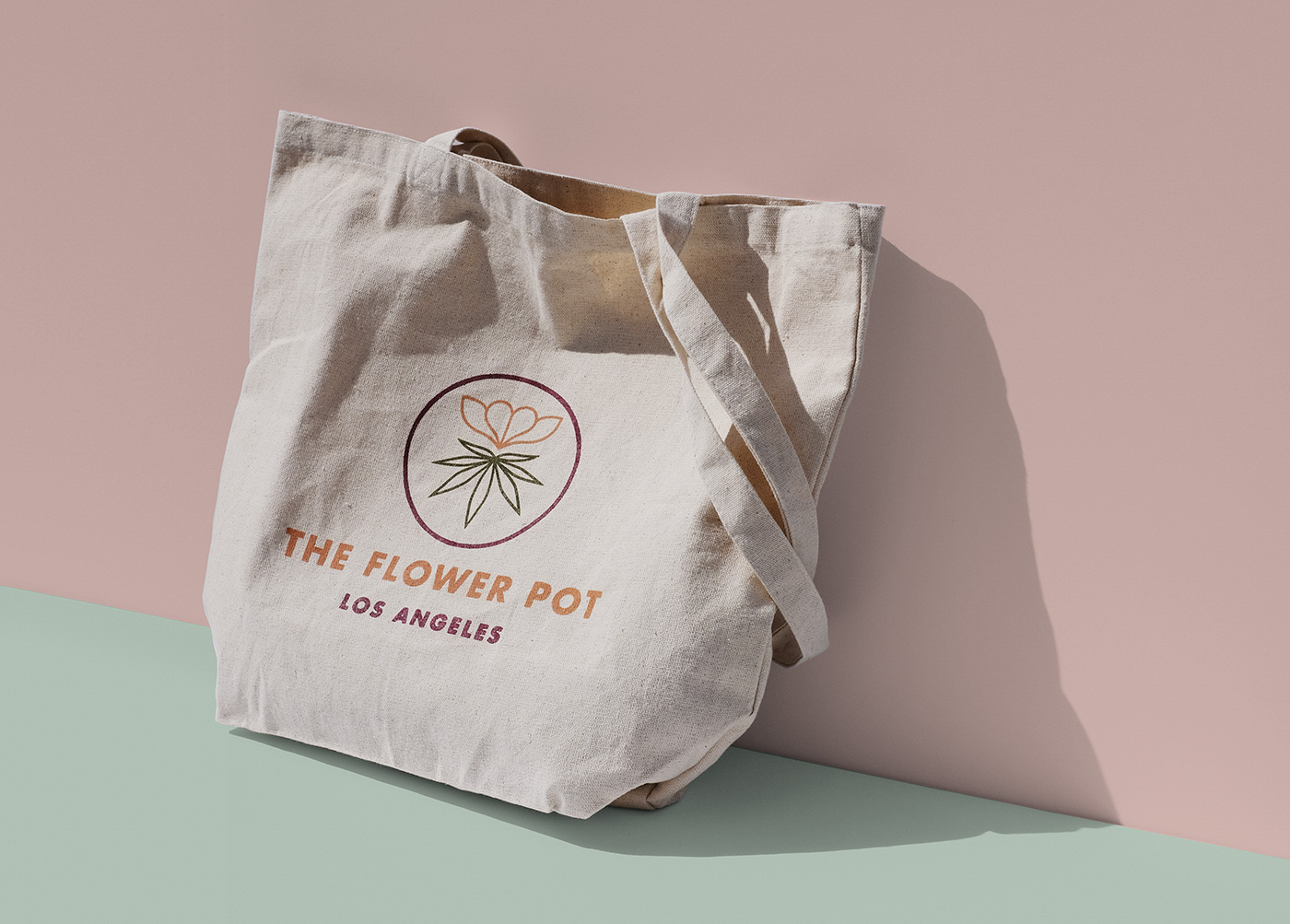 Outfit Branding & Design The Flower Pot Tote
