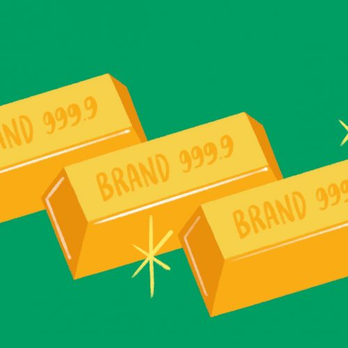 Outfit Branding & Design Eyesight Magazine The Secret to Brand Gold