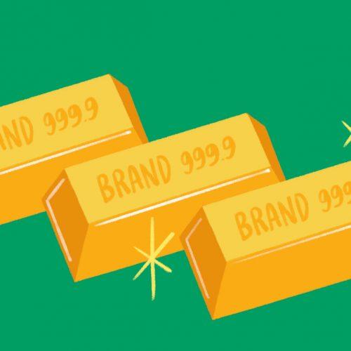 Outfit Branding & Design Eyesight Magazine The Secret to Brand Gold
