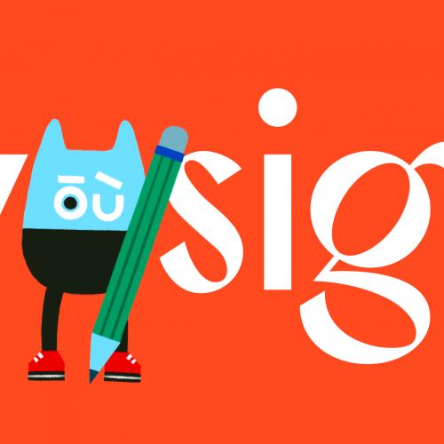 Outfit Branding & Design Launching Eyesight Magazine graphic