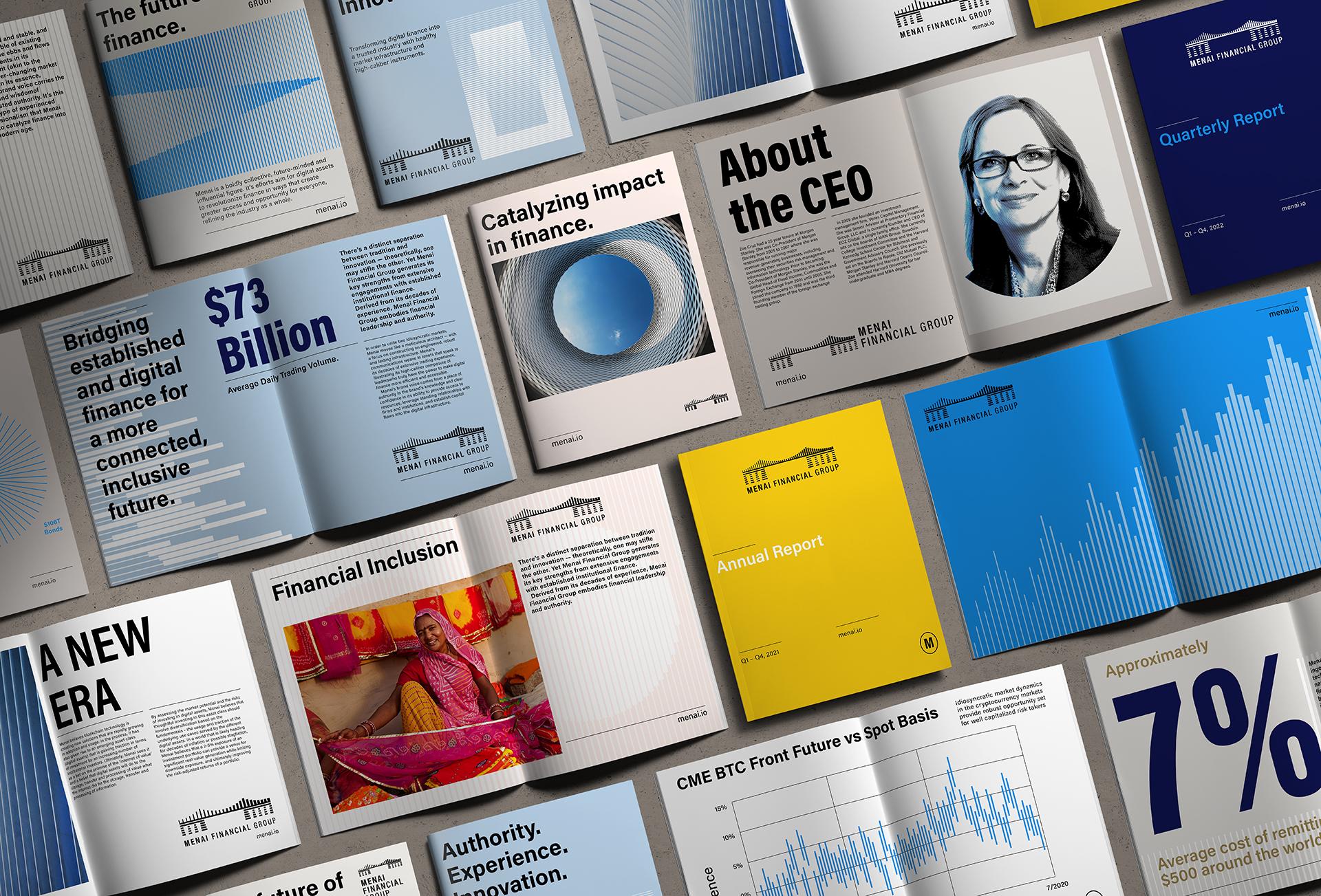 Outfit Branding & Design Launching Eyesight Magazine Menai Financial Group