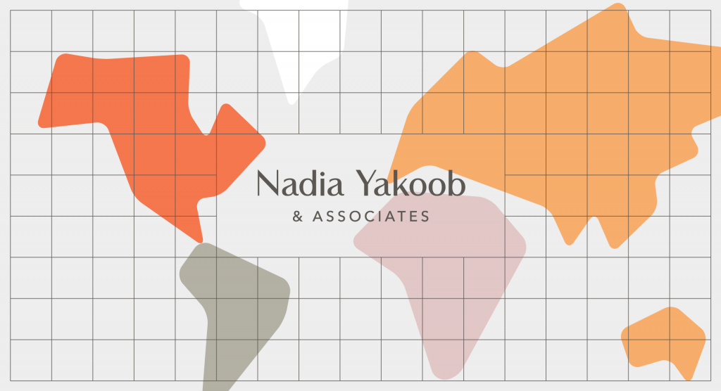 Outfit Branding & Design Eyesight Magazine Nadia Yakoob Law Logo