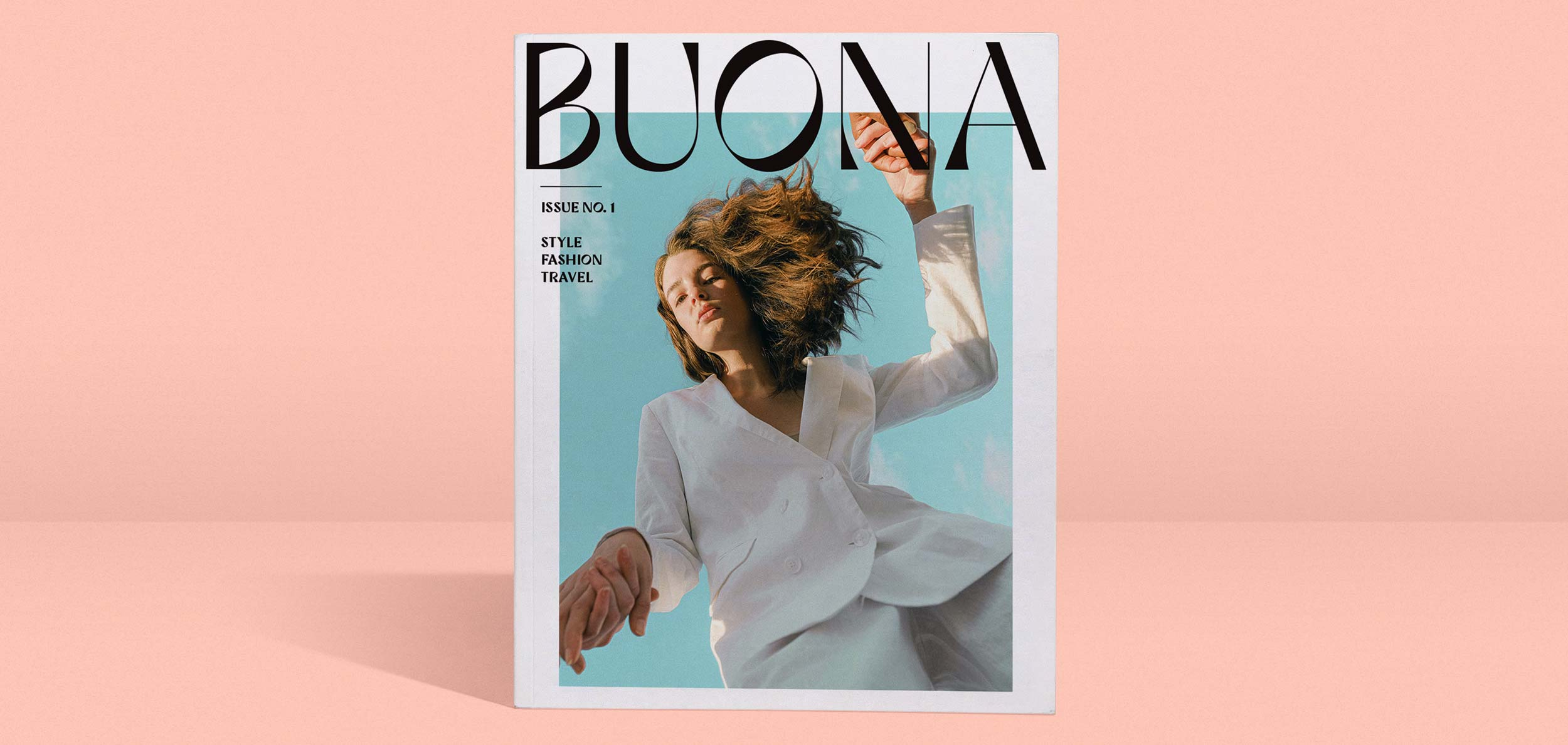 Buona Display: Stylish, Quirky, Expressive typeface from Outfit Branding & Design